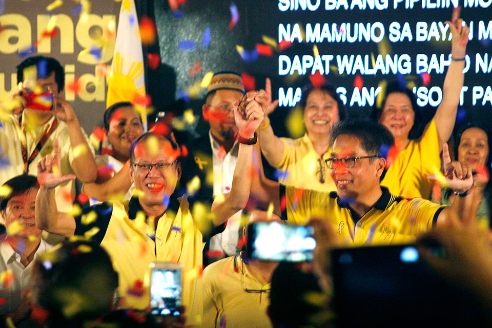 LP members, supporters gather to push Roxas candidacy